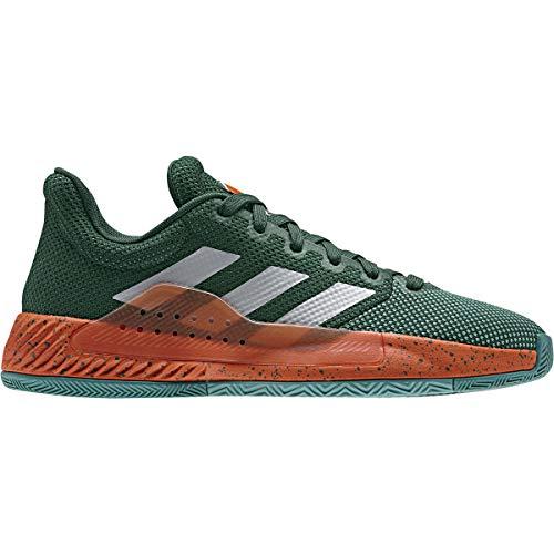 adidas Performance Pro Bounce Madness Low - Zapatillas de baloncesto para hombre, color verde oscuro/rojo, 47 1/3 EU - 12 UK - 12,5 US