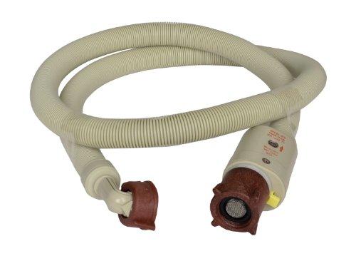 Zulaufschlauch | Mit integrierter Schlauchplatzsicherung | Spül- und Waschmaschinenschlauch | Geräteanschluss-Zulaufschlauch | 150 cm