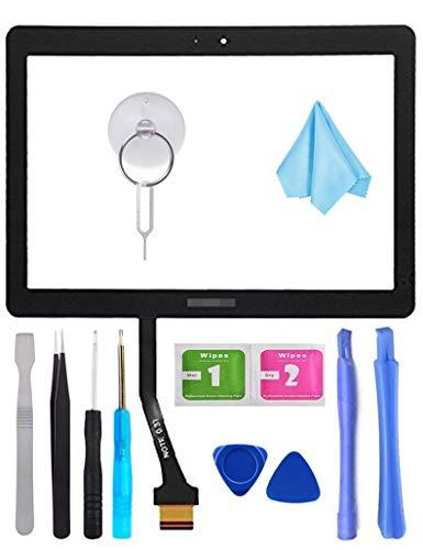 Tefir Touchscreen Digitizer Ersatz für Samsung Galaxy Tab 2 GT-P5100 P5110 N8000 25,7 cm (10,1 Zoll) (LCD-Display Nicht im Lieferumfang enthalten) mit Werkzeug und vorinstalliertem Kleber