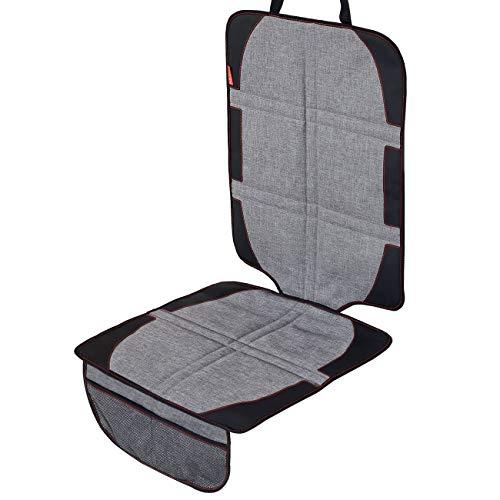 LCP Kids Autositzauflage I Robuster Auto Kindersitz Schonbezug I Rutschfeste Unterlage mit Isofix Kompatibilität