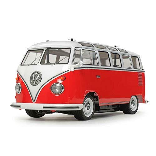 Tamiya 58668 - 1:10 RC VW Bus Type 2 (T1) (M-06), ferngesteuertes Auto/ Fahrzeug, Modellbau, Bausatz