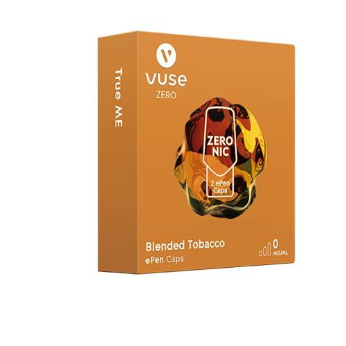 Vuse ePen Caps | Blended Tobacco | Nic Salts | ohne Nikotin | 2er Pack (1)