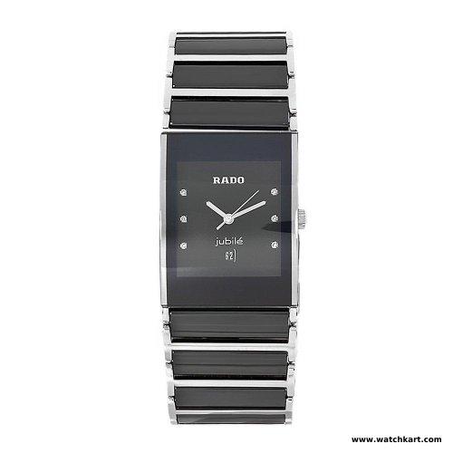 Rado Integral Jubile R20784752 - Reloj de Pulsera para Hombre con Diamantes y Fecha, analógico, Mecanismo de Cuarzo