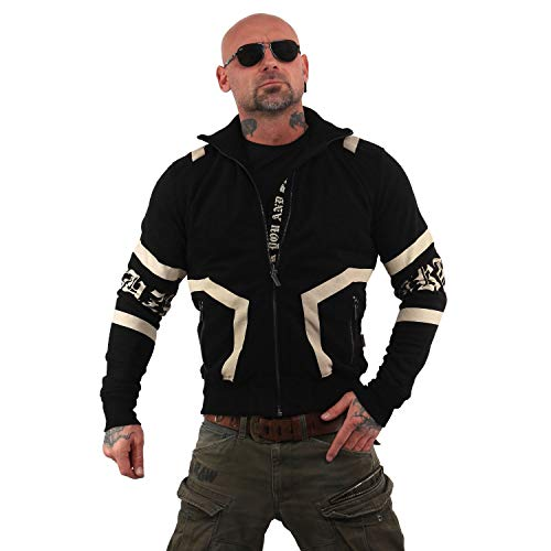 Yakuza Herren Too Much Trainingsjacke Zipper