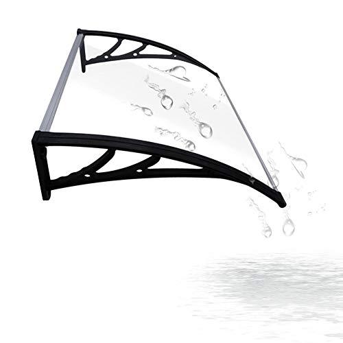 GAFEY Pannelli Coibentati per Tetto Pensilina Trasparente Policarbonato per Porta Balcone Esterno Tenda da Veranda Pensilina (Color : A, Size : 100x150cm)