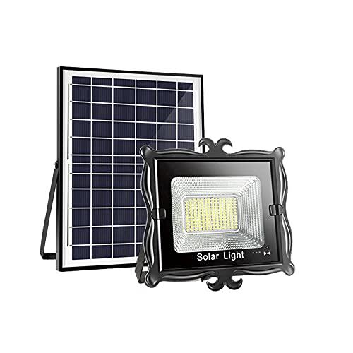 Farola Solar Led Exterior, Foco Solar Exterior Con Sensor De Movimiento,Super Brillante Y De Alta Potencia, Luces Solares Exterior,Foco Solar De Inducción LED[(Size:300W,Color:Granos de lámpara retro)