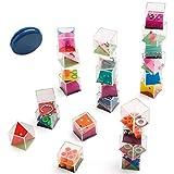 Partituki Pack de 25 Jeux: 24 Casse-têtes Cubes à Billes pour Enfants et Adultes et Un YoYo. Parfait comme Cadeaux de Fête ou Remplissage de Pinata