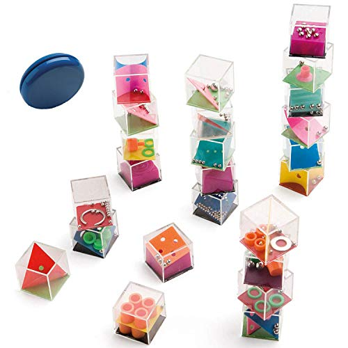 Partituki Packung mit 25 Spielen: 24 Geschicklichkeitsspiele und EIN YoYo für Kinder und Erwachsene Piñata-Füllung. Schachtel mit Lustigen Spielen.