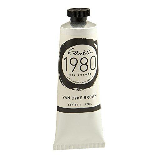 Gamblin 1980 Oil Van Dyke Brown 150Ml