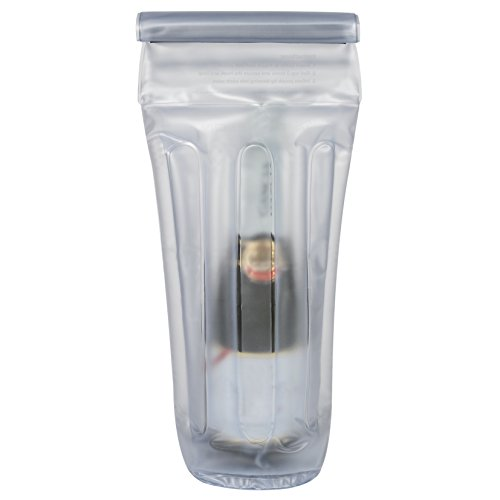 Travelon aufblasbar Flasche Tasche farblos Einheitsgröße