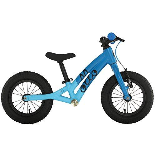 OLLO Bikes® - Laufrad 12 Zoll für Jungen und Mädchen von 2 – 4 Jahren - nur 4,5 kg - Engineered in Germany: Top-Qualität, Alu-Rahmen, hochwertige Alu-Komponenten (Blau/schwarz)