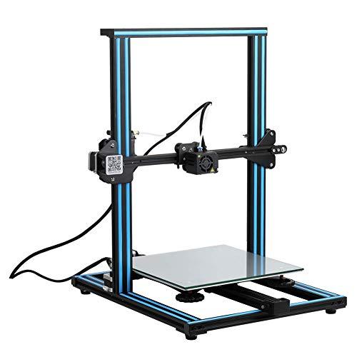 XYANZ Open Source CR-10 3D imprimante Tout Metal Frame 12x12x15.5 Pouces Construire Volume et chauffée Lit Comprend Verre Lit