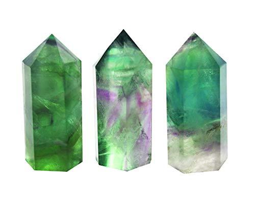 HARMONIZE Crystal Flat Healing Wand Labradorite Reiki Healing Gemstone With Clear Quartz Hand Engraved