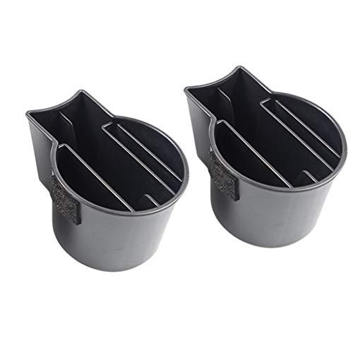 prasku 2 Piezas de Almacenamiento para Portavasos de Coche para Todos Los Organizadores de Soportes de Modelos Tesla Model 3