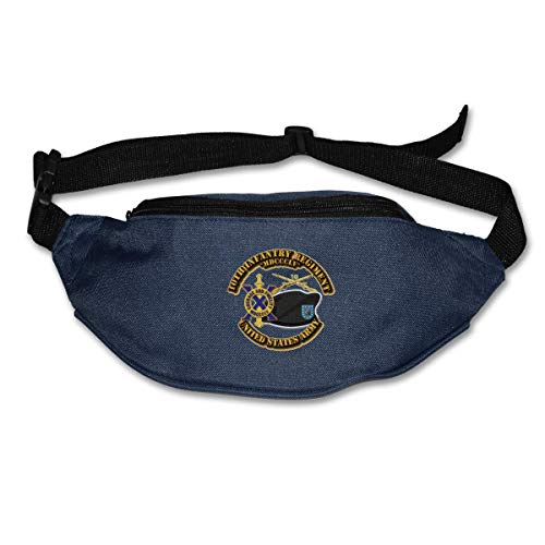 Riñonera Deportivo Bolso Cintura Cinturón Ajustable Running Belt Bolsa de Correr Ejército Décimo de Infantería BR DUI