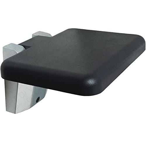 Di Vapor (R) quadratisch Klappsitz Wand montiert für Dusche–30cm zusammenklappbar disabili