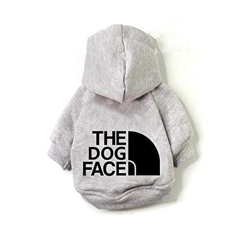 Ropa para Perros Yuan Ou Sudadera con Capucha para Perros Ropa de Invierno para Perros para Perros Abrigo Ropa de algodón para Perros Ropa para Mascotas S 4