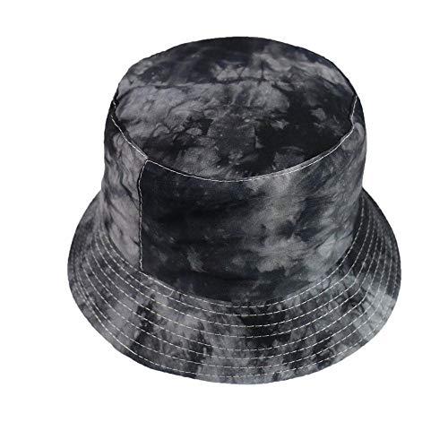 Bucket Hat Chapeau Hommes Noir Blanc Couleur Star Eye Graffiti Chapeau De Pêcheur Hommes Chapeaux De Seau Hip Hop L