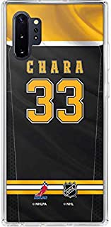 Skinit Clear Phone Case for Galaxy Note 10 Plus - Officially Licensed NHL Players Boston Bruins #33 Zdeno Chara Design