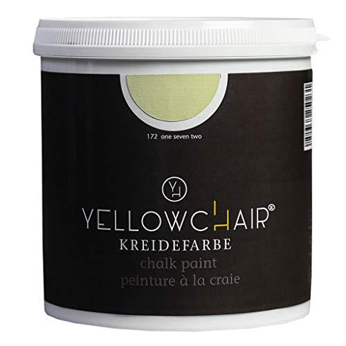Kreidefarbe yellowchair No.172 perlweiß ÖKO für Wände und Möbel 1 Liter