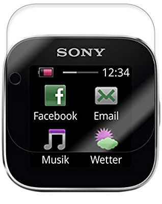 Skinomi Screen Protector Compatible with Sony Smartwatch (6-Pack) Clear TechSkin TPU Anti-Bubble HD Film