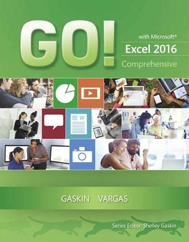 GO with Microsoft Excel 2016 Comprehensive GO for Office 2016 Series product image