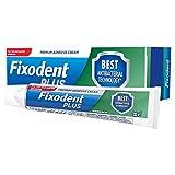 Fixodent Plus Antibacterial Technology Denture Adhesive, 40 g