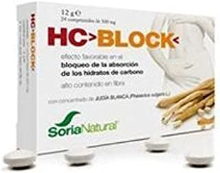 Soria Natural HC Block Vitaminas - 24 Cápsulas