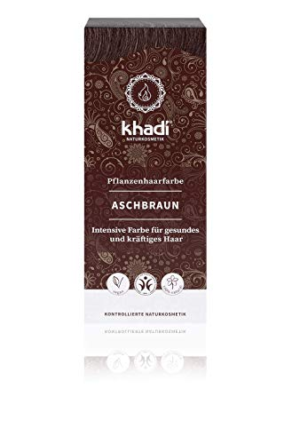 Khadi Natural Ash Brown Hair Colour 100g