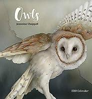Owls: Jeannine Chappell 2021 Calendar