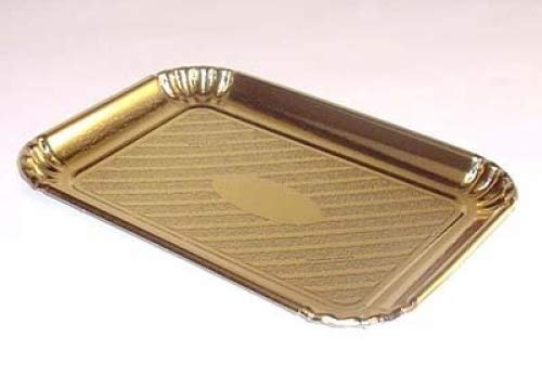 Novacart Gold Pastry & Cake Tray 8-5/8' x 11-7/8,' Case of 200