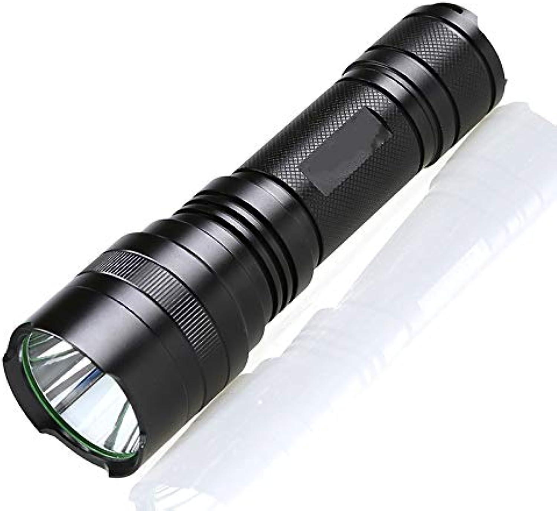 LED starkes Licht Outdoor Camping wasserdichte Anti-Fall Notfall wiederaufladbare Taschenlampe