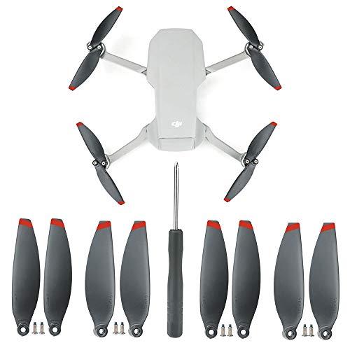 Linghuang Repuesto de Hélices para DJI Mavic Mini 2 Propellers Liberación Rápida...