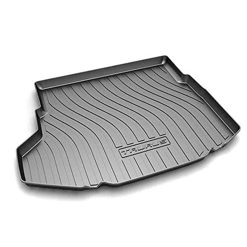 Coche Goma Alfombrillas para maletero, para Ford Taurus 2015-2020 Antideslizante Tapete La Bandeja del Piso Boot Liner Mat Accesorios De Interior