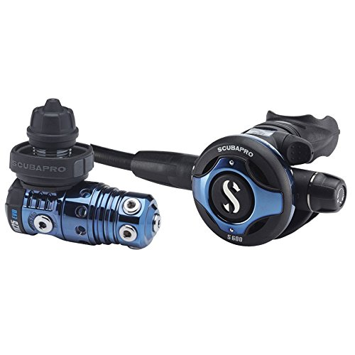 SCUBAPRO Scubapro S600 Deep Blue Ti-Core MK25 EVO Atemregler Lungenautomat, DIN/INT/Octopus:DIN / nur Regler