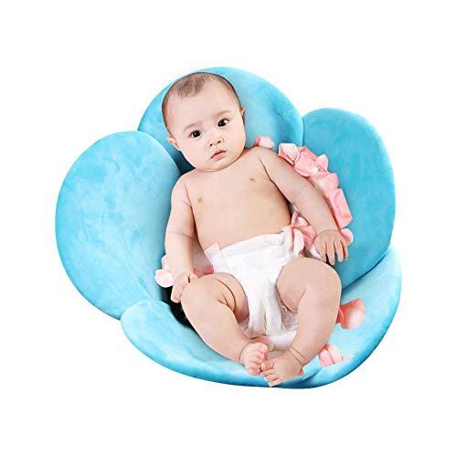 Jannyshop Baby New Badewanne Sitz Blume Klappkissen Babykissen (0-3 Jahre Infant)