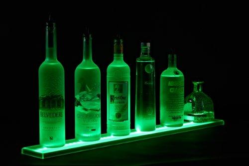 Wall Mount LED Liquor Shelf and Bottle Display