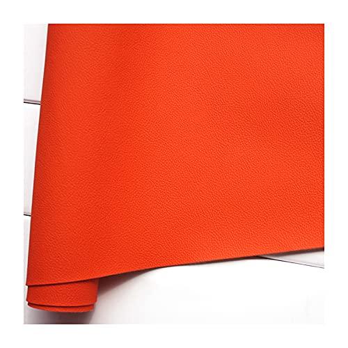 ZHJBD Cuero de Imitación Negro Cuero Sintético Material de Textura Tela de Tapicería para Hacer Arcos, Coser y Adornos de Pendientes Ancho 138 cm(Size:250 * 138 cm)