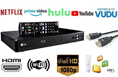 LG BP250 - Reproductor Blu-ray (FullHD, USB, HDMI), color negro