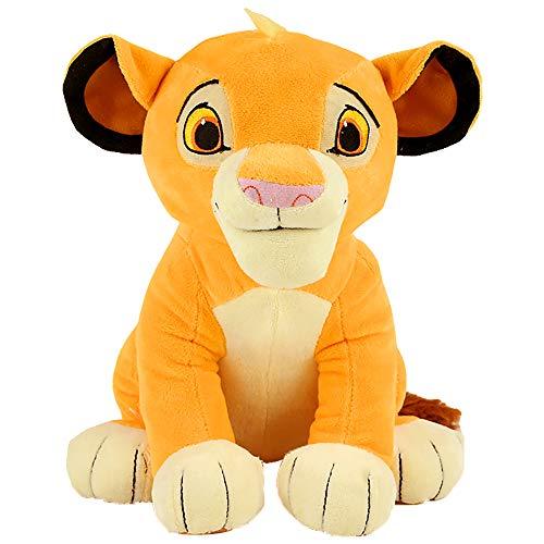 XIAOMOLAO El Rey León Peluches 26Cm, Muñeca De Peluche Suave Simba, Regalos para Niños