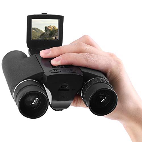 """Dpofirs Prismáticos de cámara Digital con Pantalla LCD de 1.5"""", telescopio Digital HD de 10X25 con Zoom con función de grabación para Tomar Fotos y Videos, Deportes al Aire Libre, observación de Aves"""