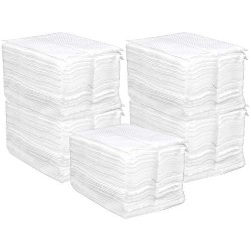com-four® 750x Papier-Servietten als Nachfüllpack für Serviettenspender