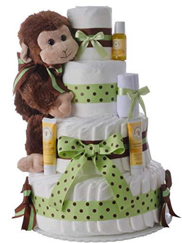 Diaper Cake - Monkey Theme...