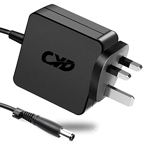 CYD 65W PowerFast Replacement for Laptop-Charger HP Pavilion G4 G6 G7 M6 DM4 DV4 DV5 DV6 DV7 G42 G50 G56 G60 G61 G62 G71 Probook 4420s 4430s 4440s 4510s 4520s 4525s 4530s 2170p 2530p 2540p AC-Adapter