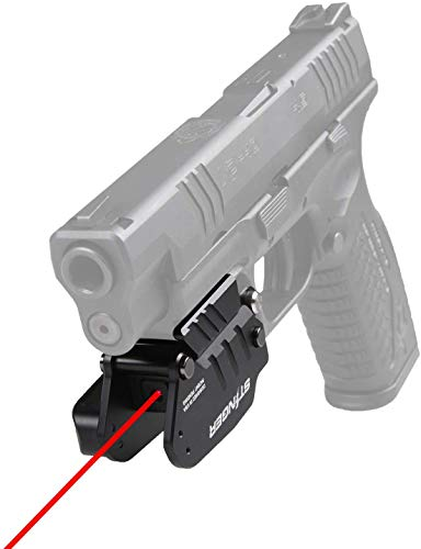 Stinger HL-1 Minimalist Holster with Laser Sight, Tactical Trigger Guard Holster, Concealment System, Clip & Quick Draw, Flip to Open, IWB Inside The Waistband Conceal Carry (Right)