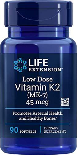 Life Extension Niedrigdosiertes Vitamin K2 (MK-7), 90 Softgelkapseln