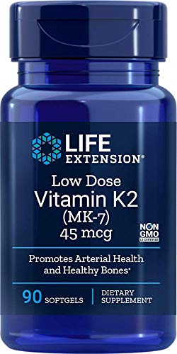 Life Extension Low-Dose Vitamin K2 (MK-7), 90 Softgels
