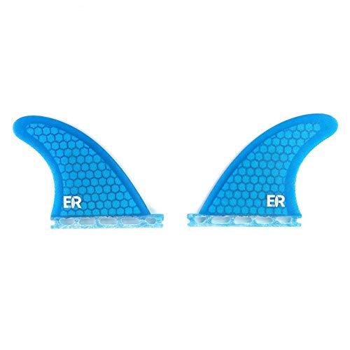 Eisbach Riders Aletas para tabla de surf Future Honeycomb Side Bites – Tamaño GX (azul)