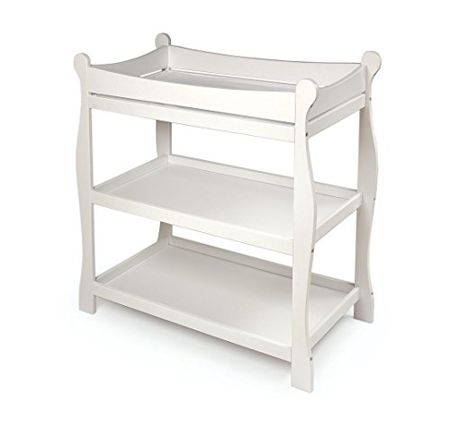 41twupSwPWL - Sleigh Style Baby Changing Table Review