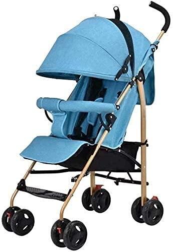 Passeggino per neonato, passeggino di viaggio per neonato infantile Toddler passeggino pieghevole leggero passeggino leggero passeggino bambini passeggino passeggino a 5 punti sicurezza mom hot system